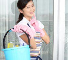 家庭でできる水害の清掃