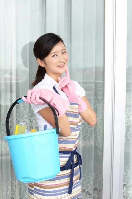 家庭でできる水害清掃